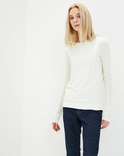 Белый джемпер Woolrich