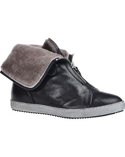 Черные ботинки Nude