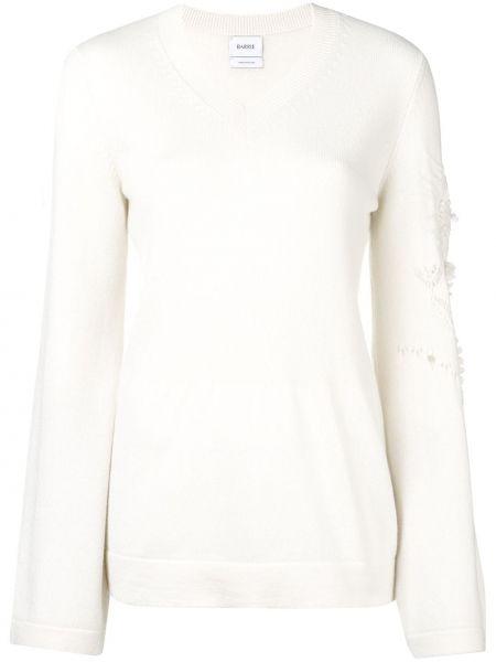 Кашемировый пуловер с V-образным вырезом Barrie