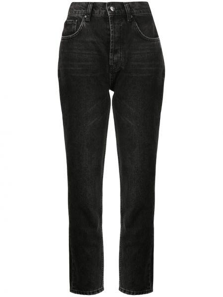 Серые хлопковые джинсы Anine Bing
