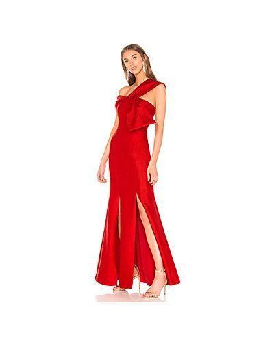 Вечернее платье с драпировкой на молнии C/meo
