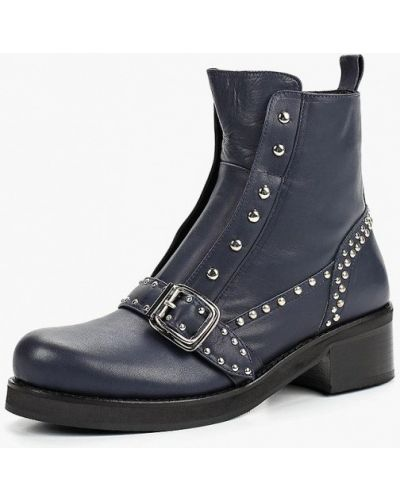 Ботинки на каблуке кожаные Ilvi