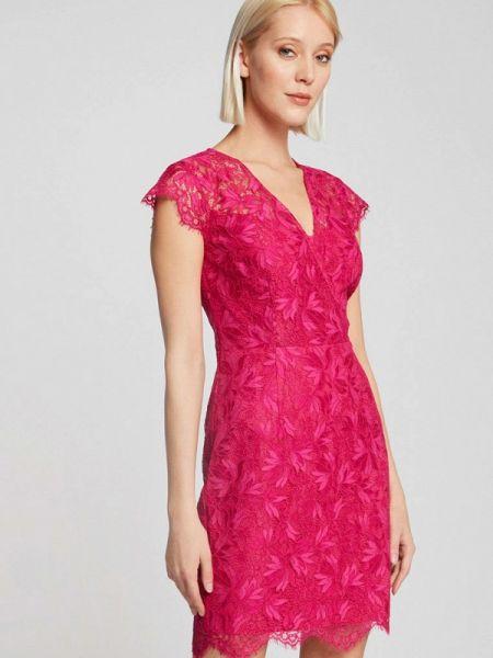 Розовое вечернее платье Morgan
