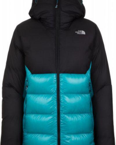 Зимняя куртка с капюшоном длинная The North Face