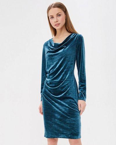 Вечернее платье осеннее зеленый Katomi