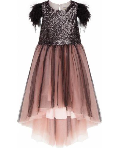 Платье с рукавами с пайетками из фатина Balloon And Butterfly