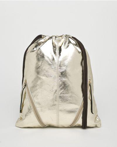 Рюкзак золотого цвета Answear