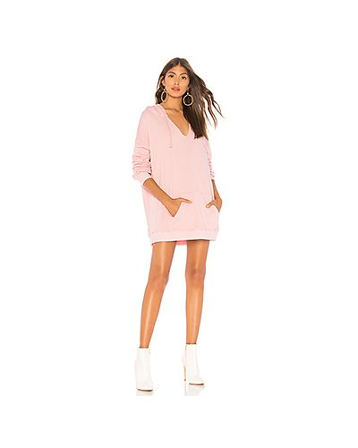 Вязаное платье с карманами кенгуру Wildfox Couture