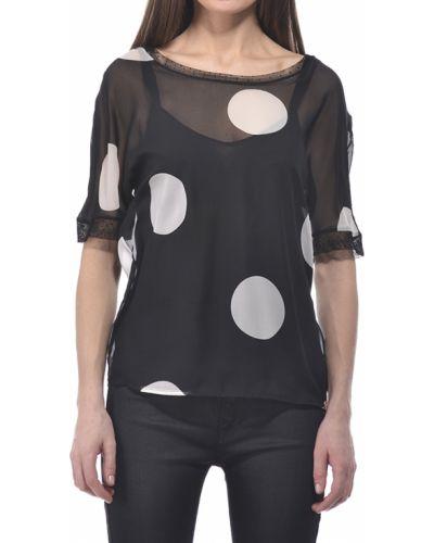Блузка черная весенний Liu Jo