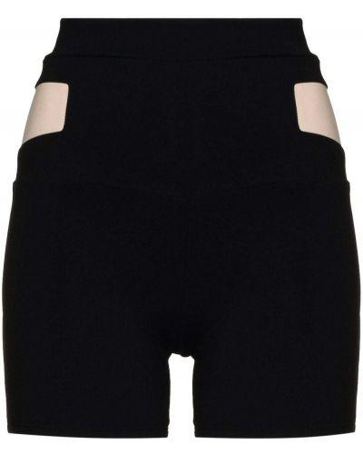 Облегающие черные шорты эластичные Live The Process