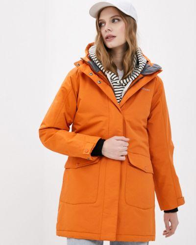 Оранжевая утепленная куртка Didriksons