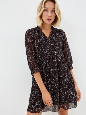 Прямое платье - черное Haily's