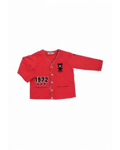 Красный кардиган Miki House