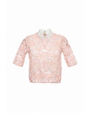 Блузка с коротким рукавом розовый итальянский Imperial