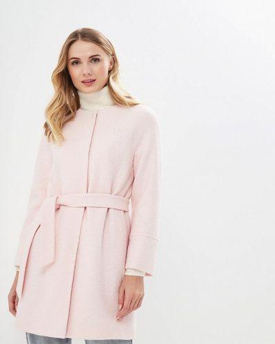 Пальто демисезонное розовое Doroteya