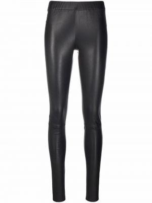 Кожаные брюки - серые Max & Moi