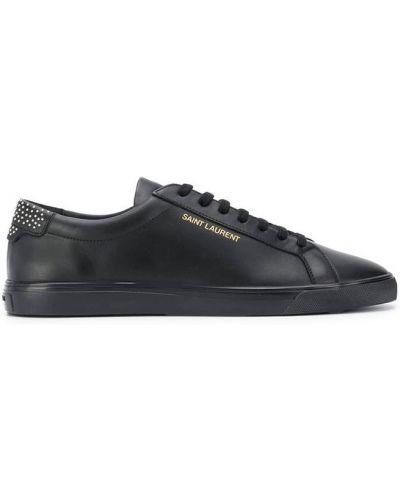 Sneakersy - czarne Saint Laurent