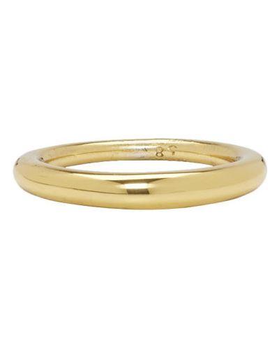 Pierścień ze złota z logo All Blues