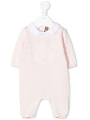 Piżama z długimi rękawami - różowa Little Bear