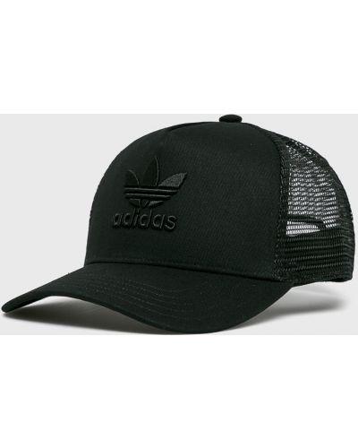 Черная шапка хлопковая Adidas Originals