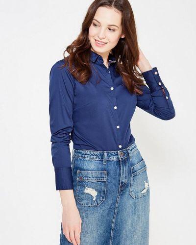 Джинсовая рубашка - синяя Tommy Hilfiger Denim
