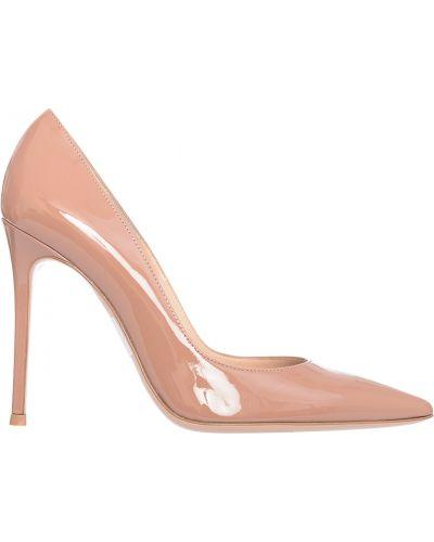 Кожаные туфли - бежевые Gianvito Rossi