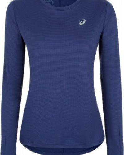 Спортивная футболка приталенная синий Asics