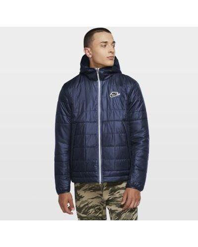 Флисовая утепленная куртка на молнии Nike