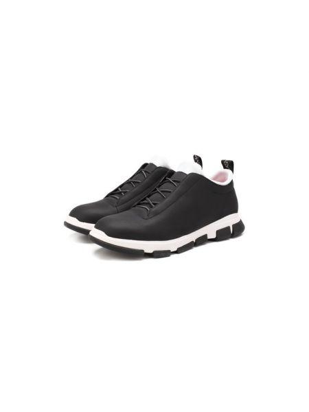 Текстильные черные кроссовки с подкладкой Swims