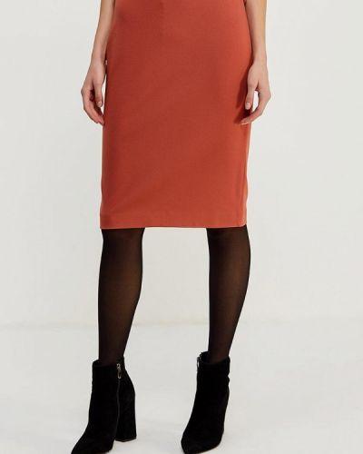 Красная юбка узкого кроя Ruxara