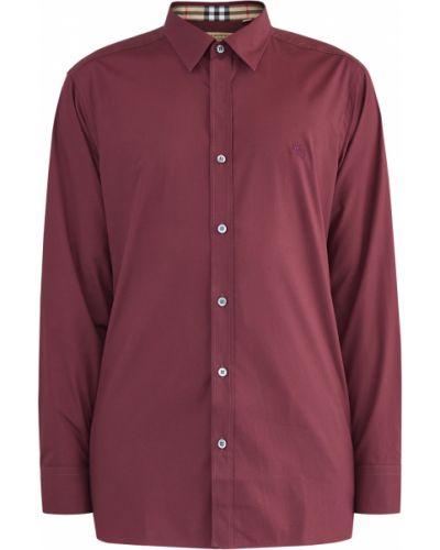 Рубашка однотонная прямая Burberry
