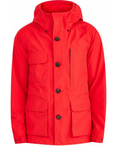 Куртка с капюшоном на пуговицах Woolrich