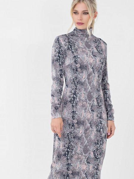 Серое платье Lo