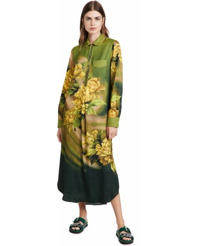 Платье - зеленое F.r.s. For Restless Sleepers