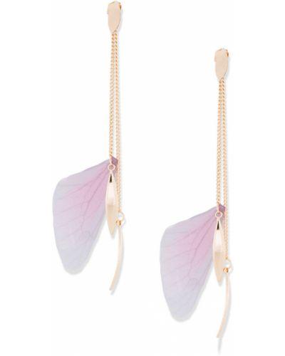Серьги золотой розовый Bonprix