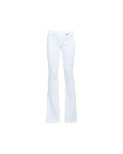 Брюки расклешенные - белые Versace Collection