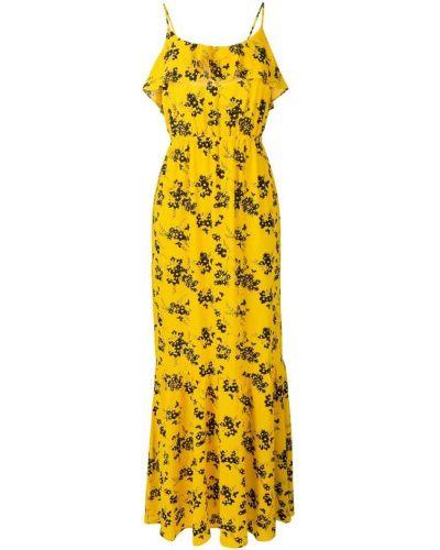 Платье на бретелях с цветочным принтом Michael Michael Kors