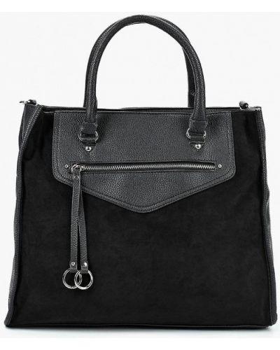 Черная сумка с ручками Befree