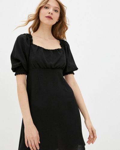 Черное платье а-силуэта Befree