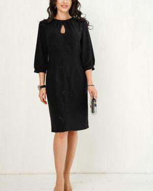 Платье платье-сарафан черное Taiga