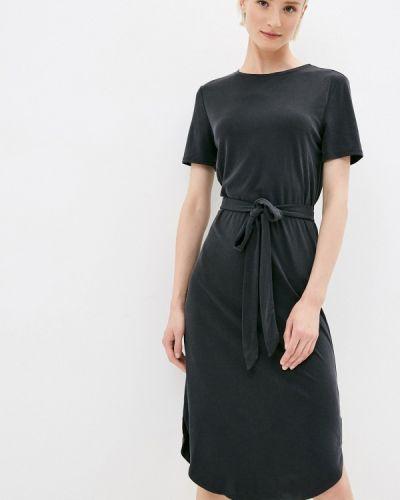 Прямое черное платье Mavi