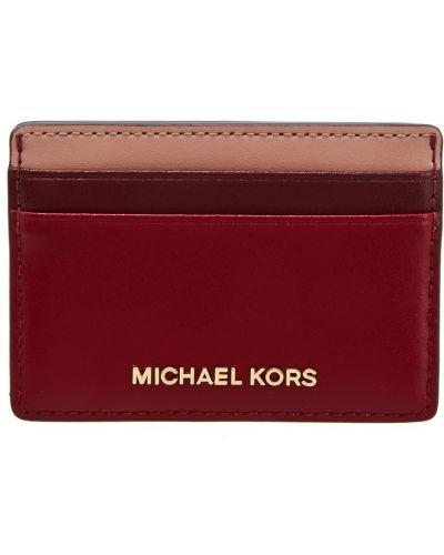 Кожаный кошелек золотой желтый Michael Michael Kors