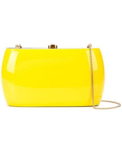 Желтая сумка круглая Rocio