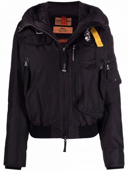 Черная куртка с карманами Parajumpers