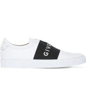Слипоны кожаные Givenchy