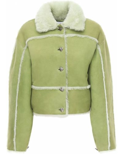 Зеленая куртка с карманами Saks Potts