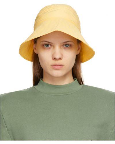 Нейлоновая желтая шапка The Attico