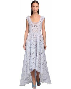 Асимметричное ажурное платье Luisa Beccaria