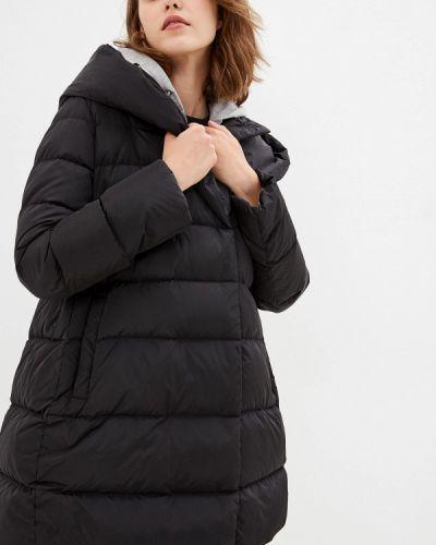 Зимняя куртка черная осенняя Add