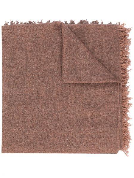 Bezpłatne cięcie brązowy jedwab trykotowy szalik przycięte Faliero Sarti